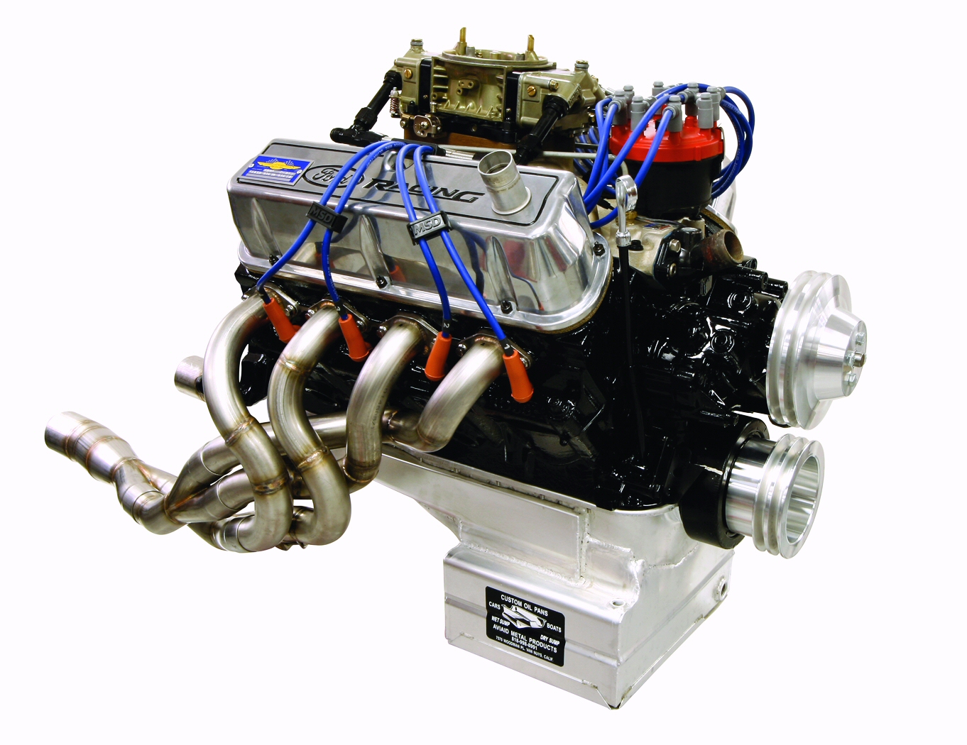 Cobra automotive road race engine