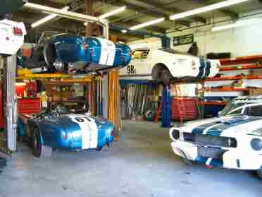 Cobra Automotive shop