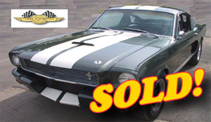 1966 GT 350 ''R'' Model FIA Race Car, sold!