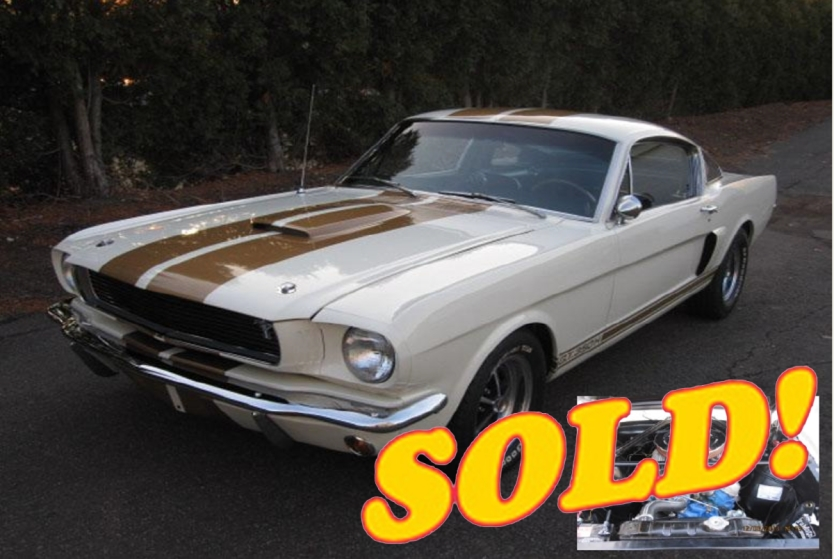 1966 Shelby GT350 Hertz, sold!
