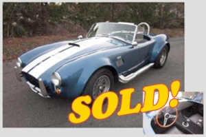 1965 Cobra 427 Replica, sold!