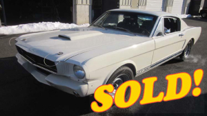 Shelby GT350 R-Model Replica, sold!
