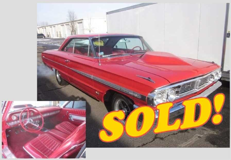 1964 Galaxie 427 Lightweight Tribute, sold!